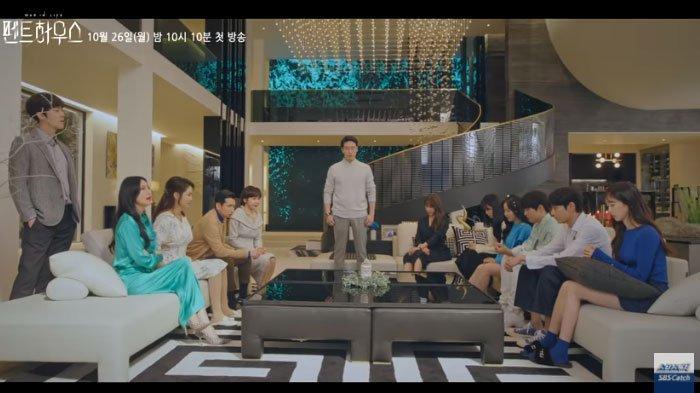 The Penthouse 2 Dominasi Daftar Drakor dan Pemeran Populer, Lee Ji Ah Teratas,Park Eun Seok Menyusul