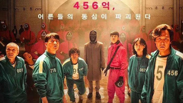 Poster Drama Korea Squid Game
