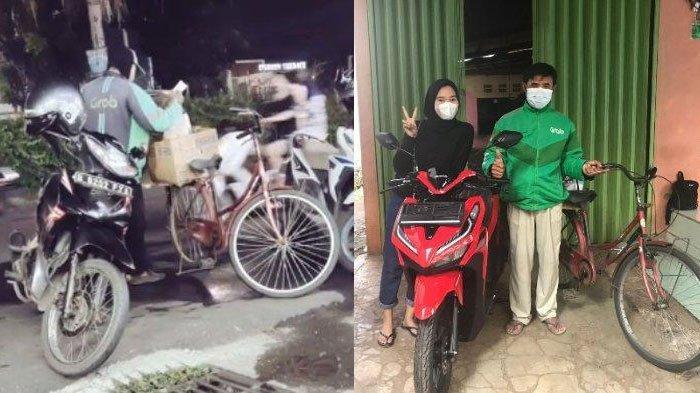 Viral Driver Ojol Setiap Hari Kerja Pakai Sepeda Akibat Motornya Hilang, FYP TikTok
