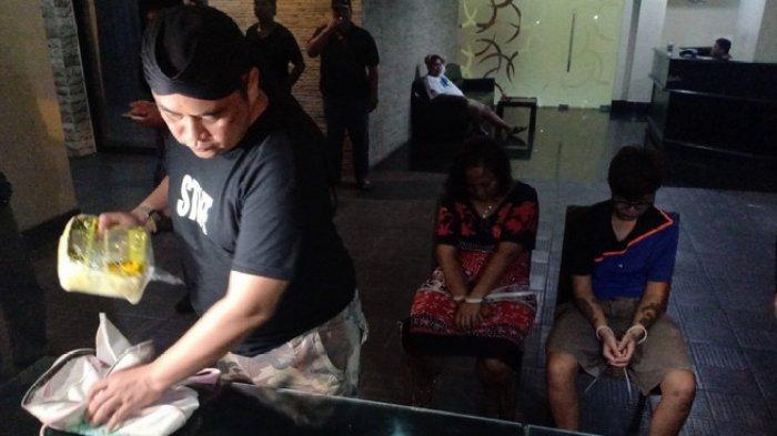 Dua Cewek di Madiun Ditangkap BNNP Jatim saat Ambil Paket 4 Kilogram Sabu di Bekas Lokalisasi