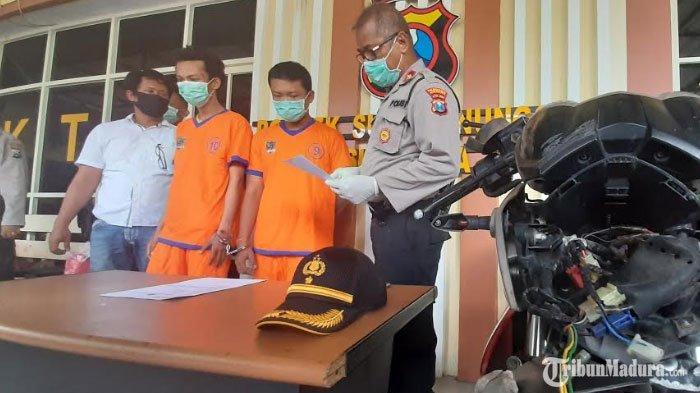 Dua Jambret di Surabaya Terlibat Aksi Tarik Menarik Tas dengan Korban, Jatuh dari Motor Karena Mabuk