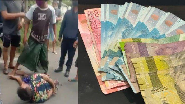 Dua Pria Merintih Dihajar Massa di Surabaya, Diikat dan Ditendang Ramai-Ramai setelah Tertangkap