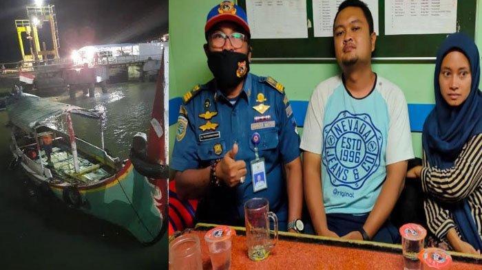 Mesin Rusak, Perahu Angkut Dua Wisatawan dari Pulau Gili Labak Terombang-ambing di Laut Selama 5 Jam