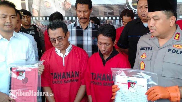 BREAKING NEWS - Gedung Sekolah di Sampang Ambruk, Dua Tersangka Korupsi Ditangkap Polisi