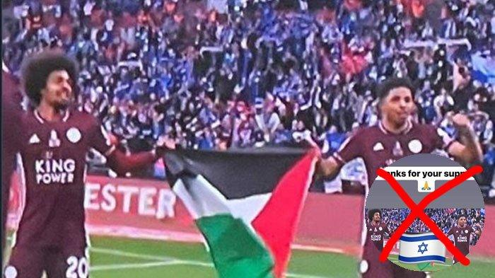 Kontroversi Pemain Timnas Israel yang Mengedit Foto Menimpa Bendera Palestina dengan Bendera Israel