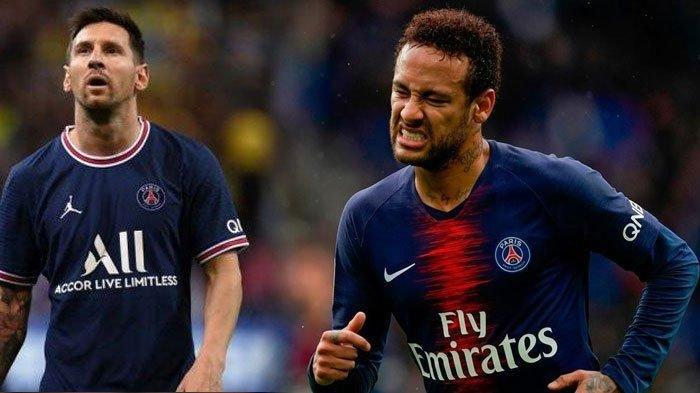 Kritikan Perlakuan PSG Terhadap Neymar, Terungkap Seharusnya Peran Neymar untuk Messi