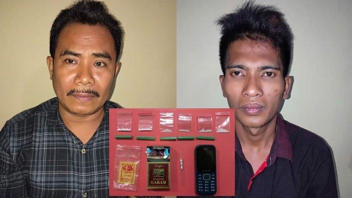 Dua Pria Madura Ditangkap di Sebuah Kamar, Diduga Sering Melakukan Kegiatan Haram, Sabu Jadi Bukti