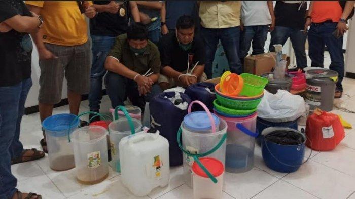 BREAKING NEWS: BNNP Jatim Tangkap 2 Pengedar Sabu dan 2 Produsen Sabu di Sebuah Hotel di Sidoarjo