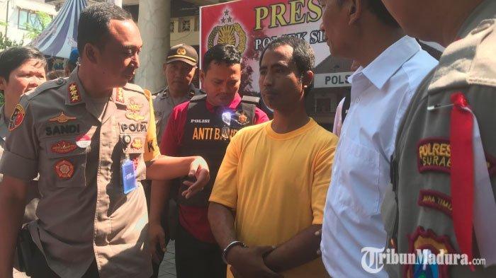 Pria di Surabaya ini Tak Kapok Keluar Masuk Penjara 18 Kali, Anggap Aksi Mencuri Jadi Pekerjaan
