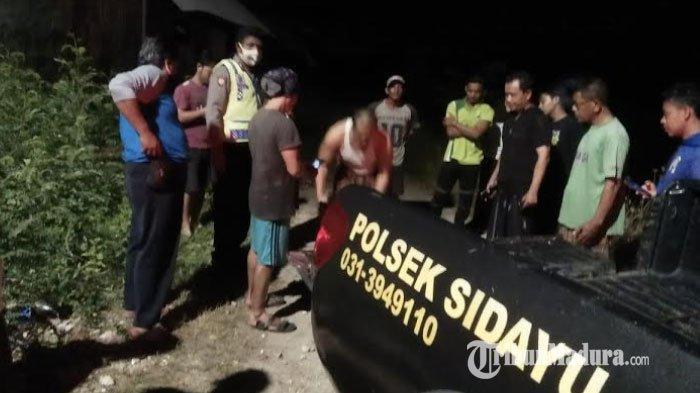 Pria Asal Surabaya Kepergok Curi Motor di Desa Randuboto Gresik, Dibogem Warga sampai Wajahnya Lebam