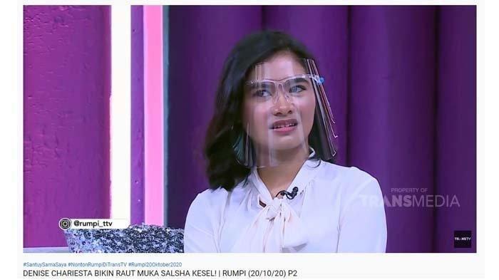 Salsha Putri Iis Dahlia Sinis KetemuDenise Chariesta, Ingin Kenalkan denganLutfi Agizal: Sorry