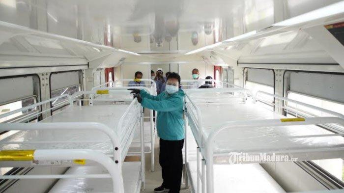 Tempat Isolasi Penuh, Pasien Covid-19 di Madiun Bakal Ditempatkan di Gerbong Kereta Ruang Isolasi