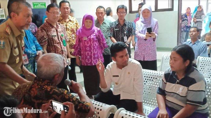 Emil Dardak Mengaku Ingat Mendiang Adik saat Temui PasienRSUD dr Soedono Kota Madiun