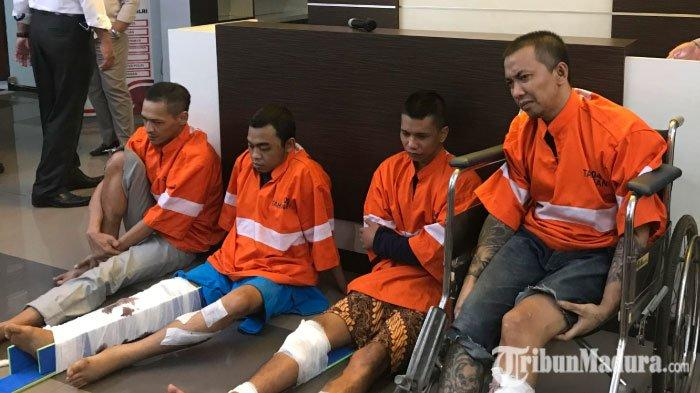 Kronologi Empat TahananPolresta Malang Kota Kabur dari Rutan, Sempat Sembunyi di Rumah Sakit