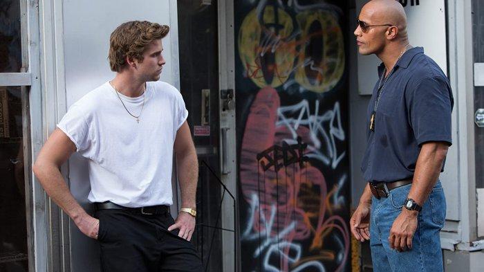 Aksi Liam Hemsworth & Dwayne Johnson di Film Empire State, Tayang di Bioskop TransTV Pukul 22.00 WIB