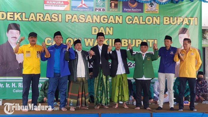 Enam Partai Politik Resmi Dukung dan Deklarasi Fattah Jasin - Ali Fikri di Pilkada Sumenep 2020