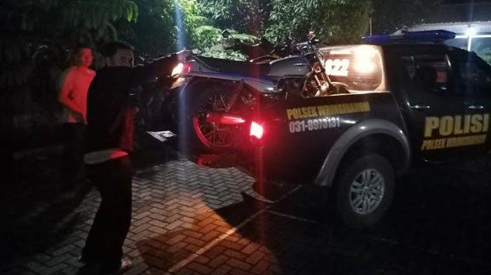 Polisi Tingkatkan Razia Knalpot Brong selama Ramadan di Gresik, 6 Motor Diamankan Polsek Wringinanom