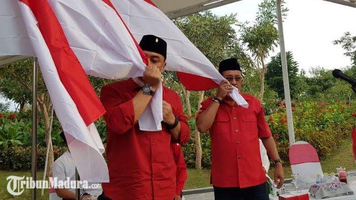 Eri Cahyadi - Armuji Maju di Pilkada Surabaya 2020, Whisnu Sakti Dapat Tugas Khusus dari Megawati