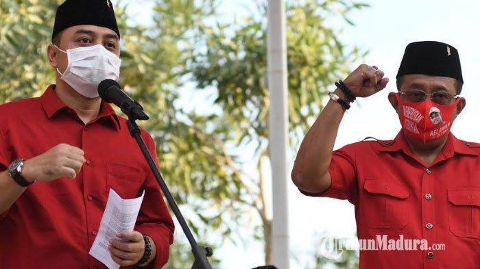 Resmi Usung Eri Cahyadi-Armudji di Pilkada Surabaya 2020, PDIP Buka Pintu Koalisi dengan Parpol Lain