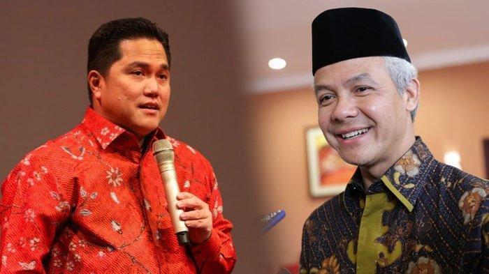 Relawan Jokowi Dukung Ganjar Pranowo di Pilpres 2024, Berharap Bisa Berpasangan dengan Erick Thohir