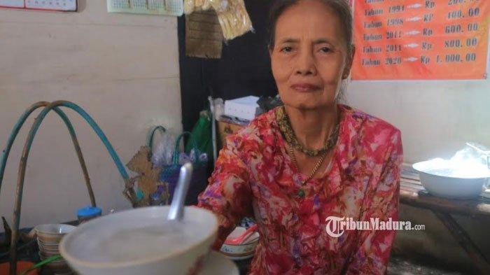 Jual Es Dawet Sejak Tahun 1984, Bu Matun Cuma 3 Kali Naikkan Harga, Warung Legendaris di Ponorogo