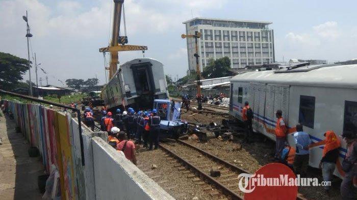 Misteri 7 Gerbong Kereta Api di Kota Malang Jalan Sendiri, Simak Kisah Mistis yang Gegerkan Warga