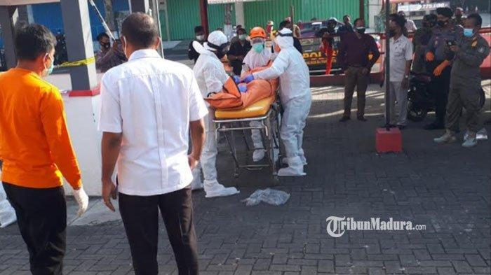 Dikira Lagi Tidur, Sesosok Pria ini Ditemukan Tak Bernyawa di Pos Keamanan Pasar Wage Kota Blitar
