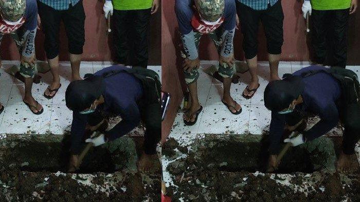 Toilet Mampet Hendak Diperbaiki, Keramik Berbeda Bikin Curiga, Pemilik Malah Temukan Mayat Terkubur