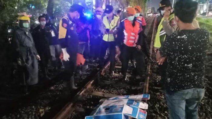 Wanita Tanpa Identitas Tertabrak Kereta di Kawasan Jalan Ahmad Yani Surabaya, Simak Kronologinya
