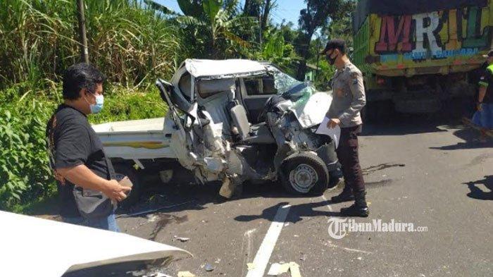 Kecelakaan di Jalur Tengkorak Lumajang, Tiga Kendaraan Jadi Korbannya, 1 Orang Alami Cedera Tangan