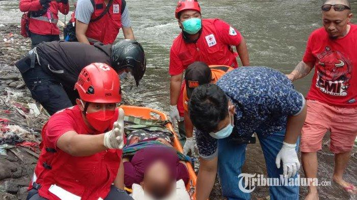 Wanita ODGJ Jatuh ke Sungai Brantas saat Buang Sampah, Pernah Dirawat Inap di RSJ Lawang pada 2016