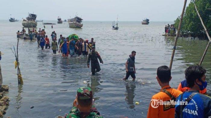 3 Hari Menghilang, Dua Nelayan Sumenep yang Tenggelam di Perairan Gili Genting Ditemukan Tewas