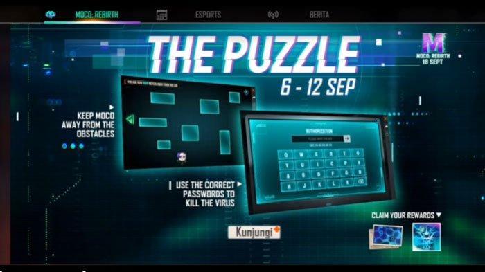 Kode Redeem FF atau Free Fire Kamis 9 September 2021, ada Cupid Scar, Titan Scar hingga Poker MP40