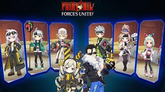 Hore! Kini Anime Fairy Tail Bisa Dimainkan, FAIRY TAIL: Forces Unite! Resmi Dirilis Garena Indonesia