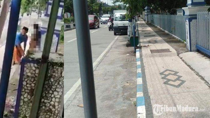 FAKTA BARU Pria Telanjangi Wanita Madura di Pinggir Jalan, Lokasinya Terungkap, Saksi Beber Kejadian