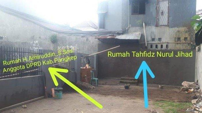 Anggota DPRD Tutup Akses Jalan Para Tahfiz Menuju ke Masjid Menggunakan Tembok, ini Permasalahannya
