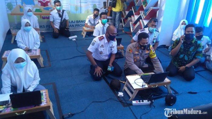 Terminal Kota Bangkalan Buka LayananEdukasi, Siswa Bisa Belajar Online TanpaBeli Paket Internet