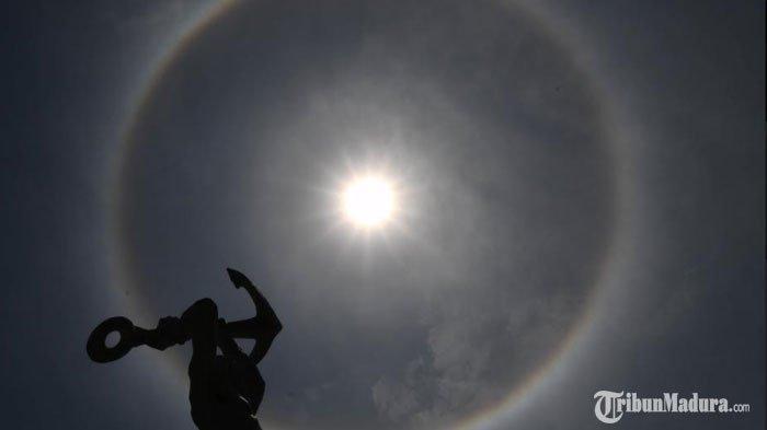 Penjelasan Halo Matahari, Fenomena di Langit Surabaya Hari ini, Proses Pembentukannya Mirip Pelangi