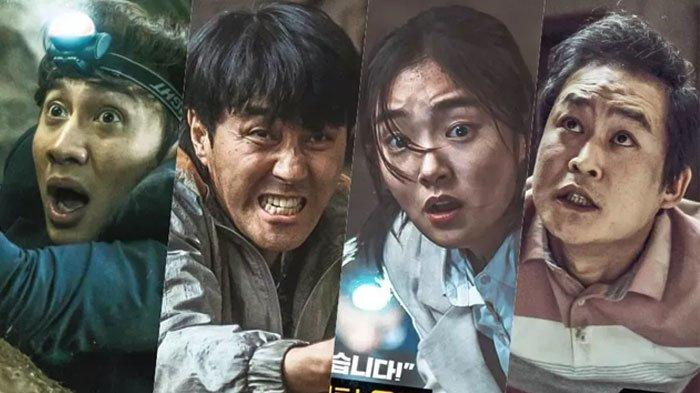 Sinopsis Film Sinkhole, Ketika Kim Sung Kyun hingga Lee Kwang Soo Terjebak dalam Lubang Besar