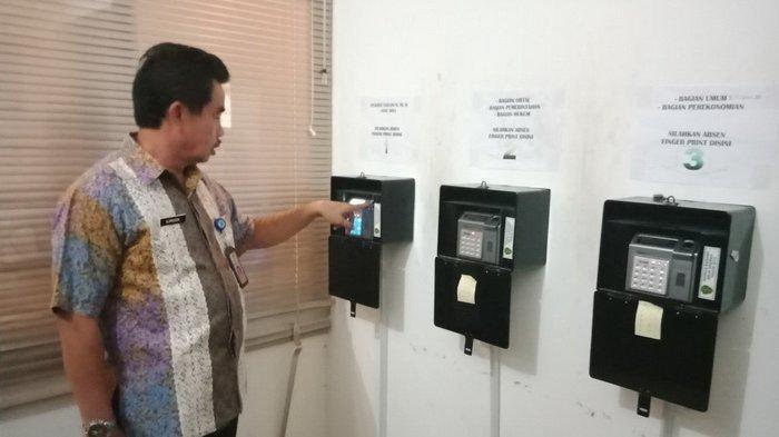 Pemkab Bangkalan Hentikan Pemakaian Mesin Absensi Finger Print, Cegah Penyebaran Kasus Covid-19