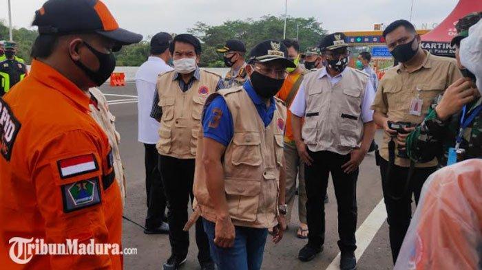 Persiapan PSBB di Malang Raya, Forkopimda Kota Malang Tinjau Check Point, Pantau Kesiapan