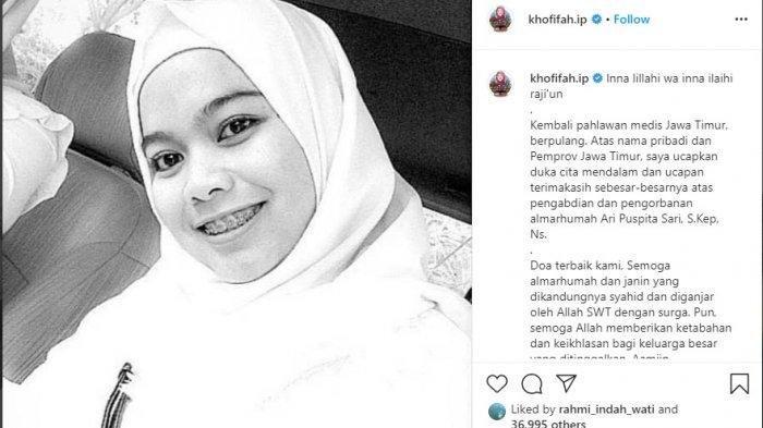 Beredar Kabar Soal Suami Perawat RS Royal Surabaya Meninggal karena Corona, Dokter Aldiah: Itu Hoaks