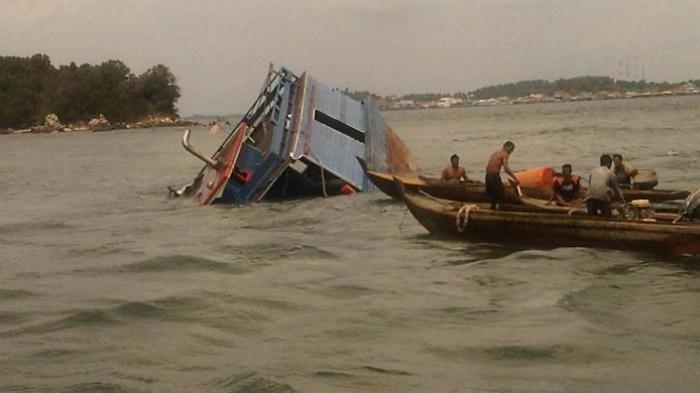 Tiga Penumpang Kapal Motor di Perairan Sumenep Hilang, Polair Polres Sumenep Lakukan Pencarian