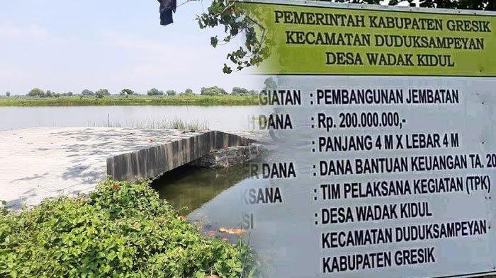 Jembatan Viral Senilai Rp 200 Juta Sepanjang 4 Meter di Gresik Usai Diverifikasi, Begini Hasilnya