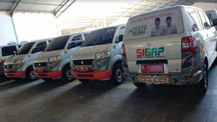 178 Mobil Sehat dari Pemkab Pamekasan akan Diserahkan ke Setiap Desa, Dimulai dari Wilayah Pantura