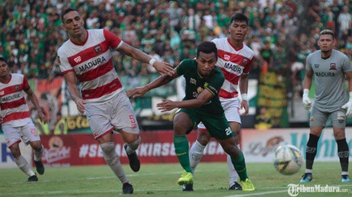 Laga Derby Suramadu Madura UnitedVs Persebaya Dipastikan Digelar diStadion Gelora Bangkalan