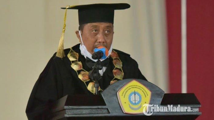 Rektor Universitas Trunojoyo Madura (UTM) Positif Covid-19, Sempat ke Jakarta Sebelum Gelar Wisuda
