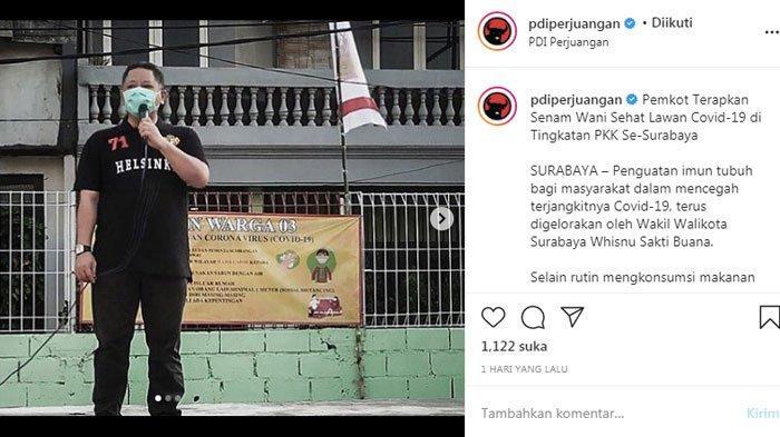 Unggahan Instagram DPP PDIP Sebelum Pengumuman Rekomendasi Pilkada, Isyarat untuk Surabaya?
