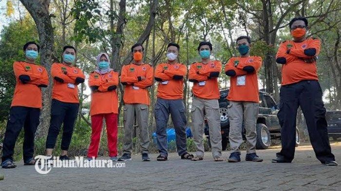 Relawan FPRB Pamekasan Ikuti Jambore Relawan 2021, Persiapan Antisipasi datangnya Kebencanaan