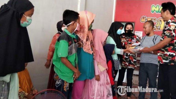 Gabungan 23 LSM di Kabupaten Pamekasan Gelar Tasyakuran, Sembari Santuni Puluhan Anak Yatim Piatu